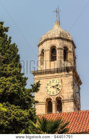 Cavtat, church tower