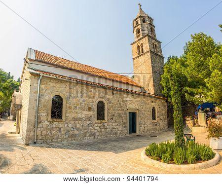 Cavtat, church