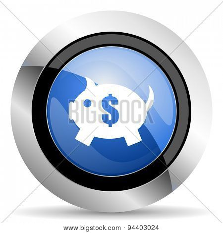 piggy bank icon  original modern design for web and mobile app on white background