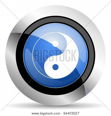 ying yang icon  original modern design for web and mobile app on white background