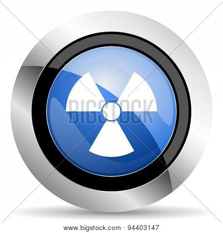 radiation icon atom sign original modern design for web and mobile app on white background