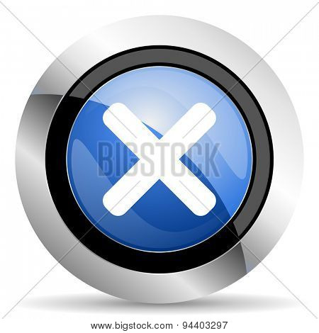 cancel icon x sign original modern design for web and mobile app on white background