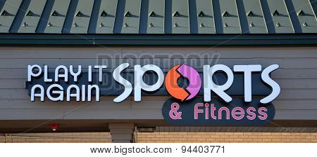 Play It Again Sports Store Logo