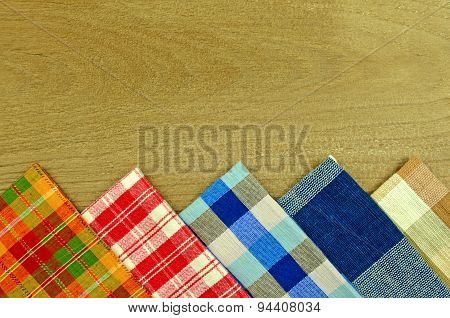 Collection of Thai Handmade Tablecloth.