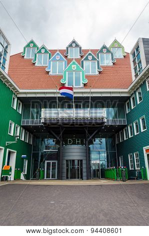 Zaandam Netherlands - May 5 2015: Zaandam City Hall