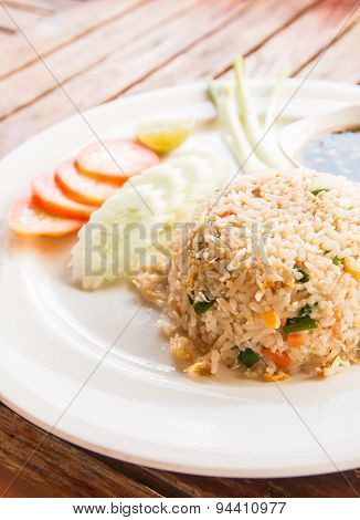 Fried Rice In Thailand
