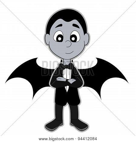 Vampire Boy Cartoon