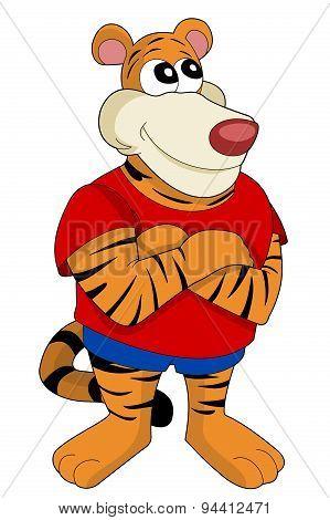 Big Tiger Cartoon