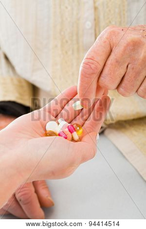 Doctor Offering Drugs