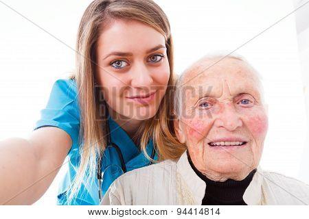 Hospital Selfie