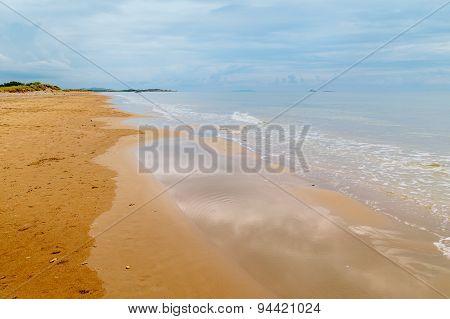 golden beach of Issos