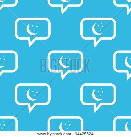 Night message pattern