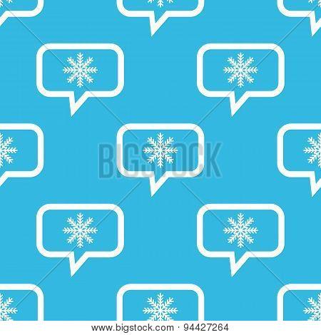Winter message pattern