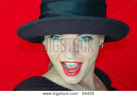 Woman In Hat 5
