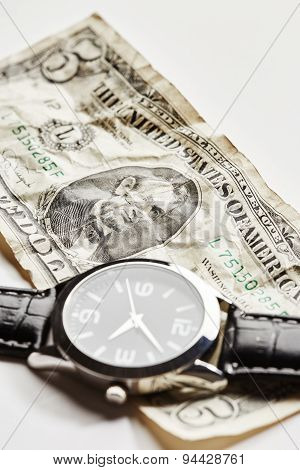Dollar With Watch