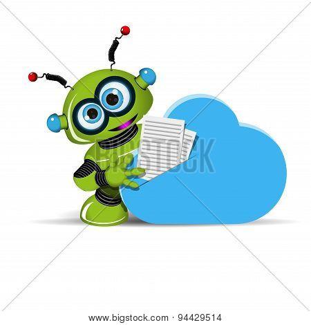 Robot And Cloud