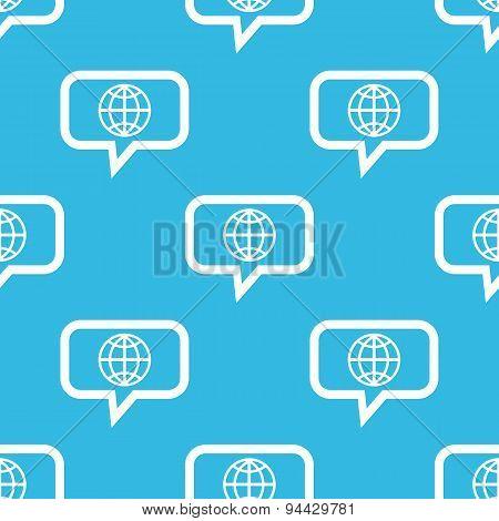 Globe message pattern