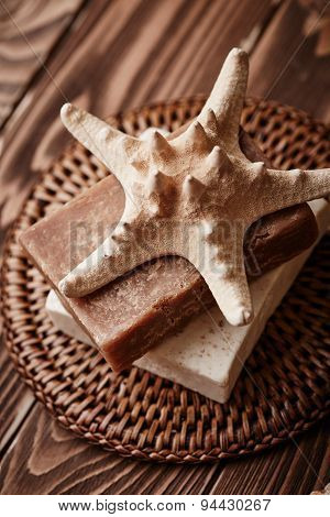 Soap With Starfish