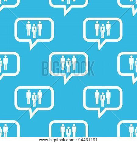 Work team message pattern