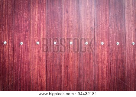 Wood Door With Metal Stud