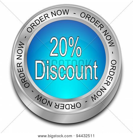 20% Discount - order now Button