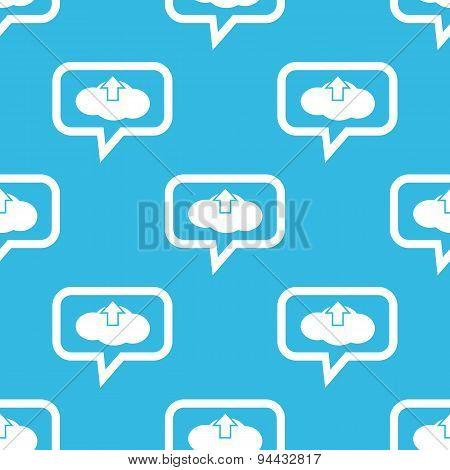 Cloud upload message pattern