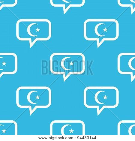 Turkey symbol message pattern