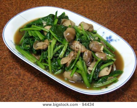 Vegetables And Mushrooms