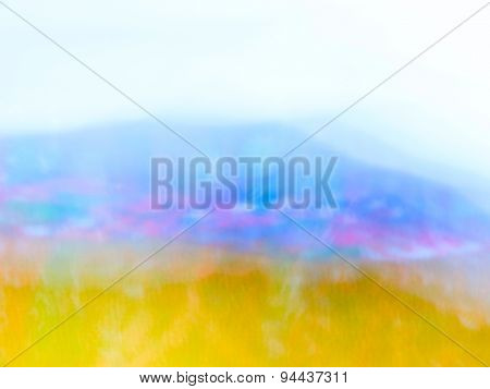 The digital blur Abstract picture.