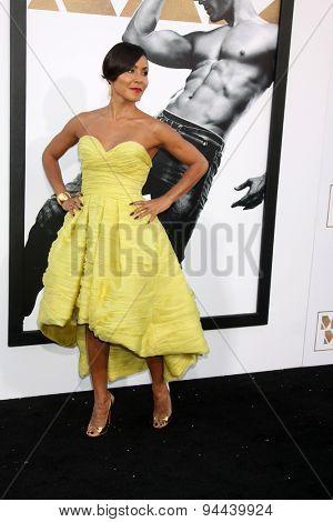 LOS ANGELES - JUN 25:  Jada Pinkett Smith at the