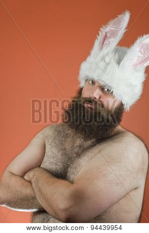 Confident Bunny Man