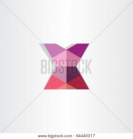 Female Mini Skirt Origami Icon