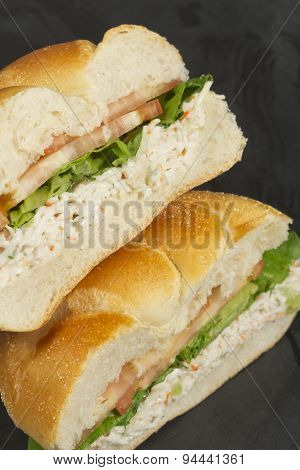 Seafood Salad Sandwich