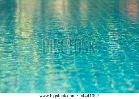 Clear Transparent Pool Water Background