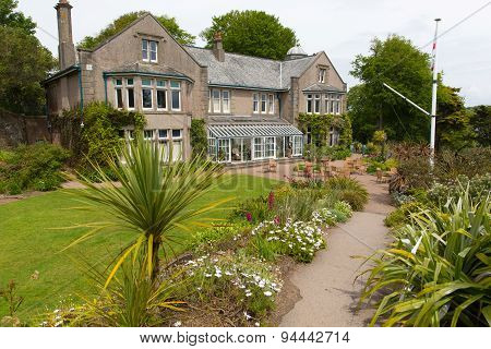 Overbecks Edwardian house museum and gardens in Salcombe Devon England UK a tourist attraction with
