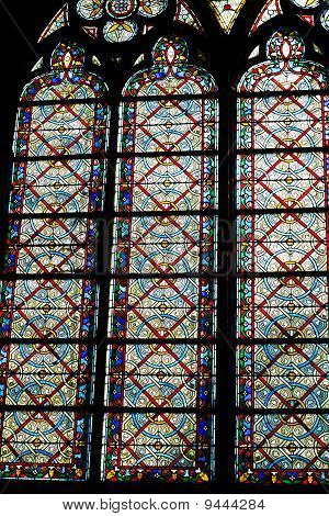 Stained Glass Windows Paris Cathedral