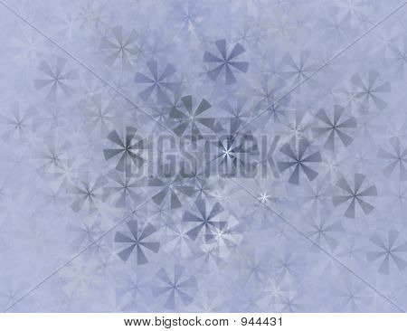 Blue Snowflowers