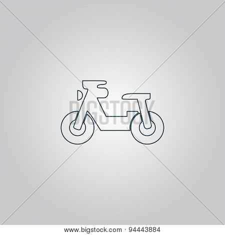 Transportation Flat Icon. Vector Pictogram