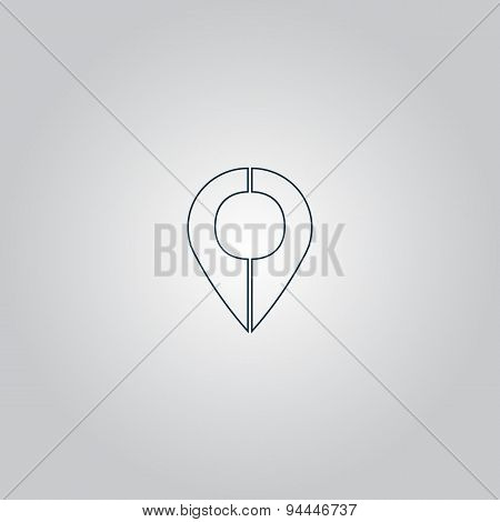 Mark pointer icon