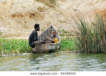 Fishermen, Uganda