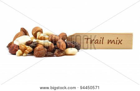 Trail Mix At Plate