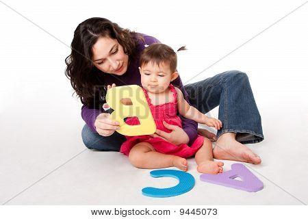 Baby Learning Alphabet Abc