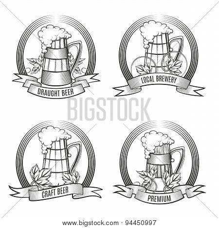 Beer Mug Set
