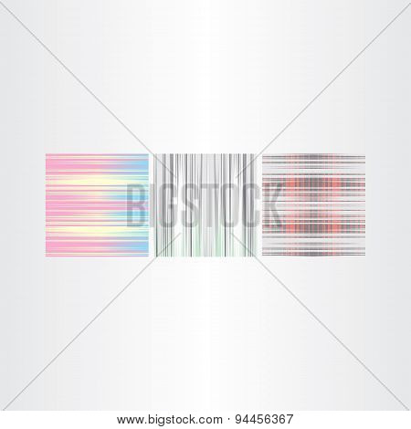Abstract Vector Backgrounds Set