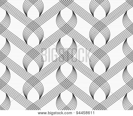 Flat Gray With Hatched Overlapping Integrals