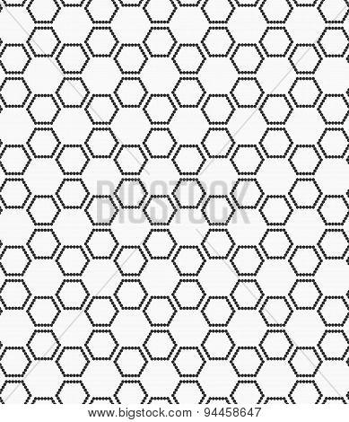 Flat Gray With Hexagonal Stars
