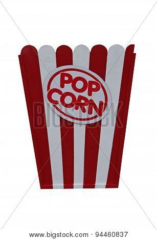 Sign for Popcorn.