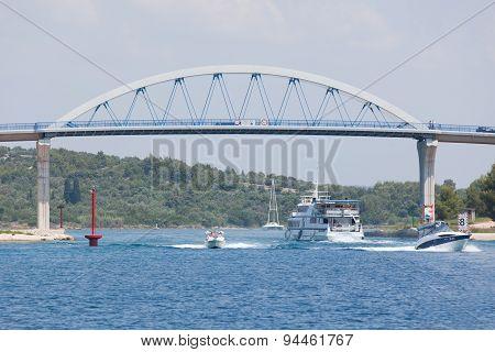 Bridge In Croatia Pag