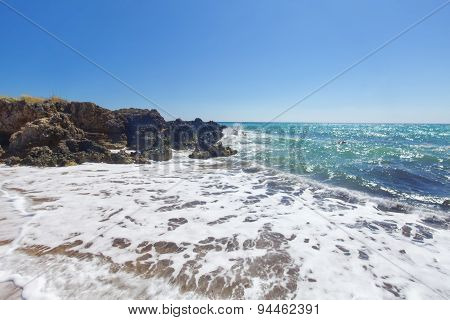 Cliffs On The Sea