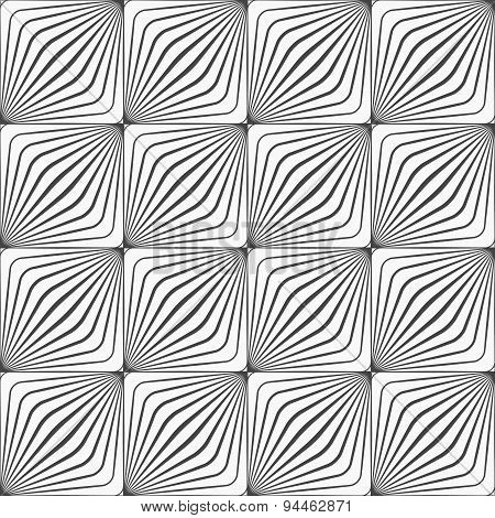 Gray Diagonally Striped Squared Forming Grid